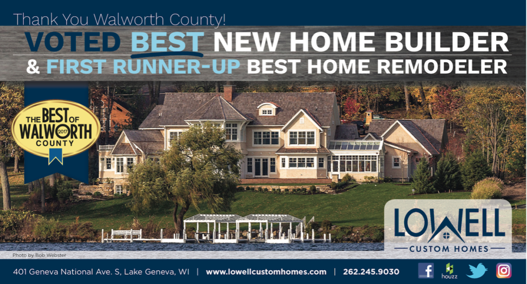 Lowell Voted As 1 New Home Builder