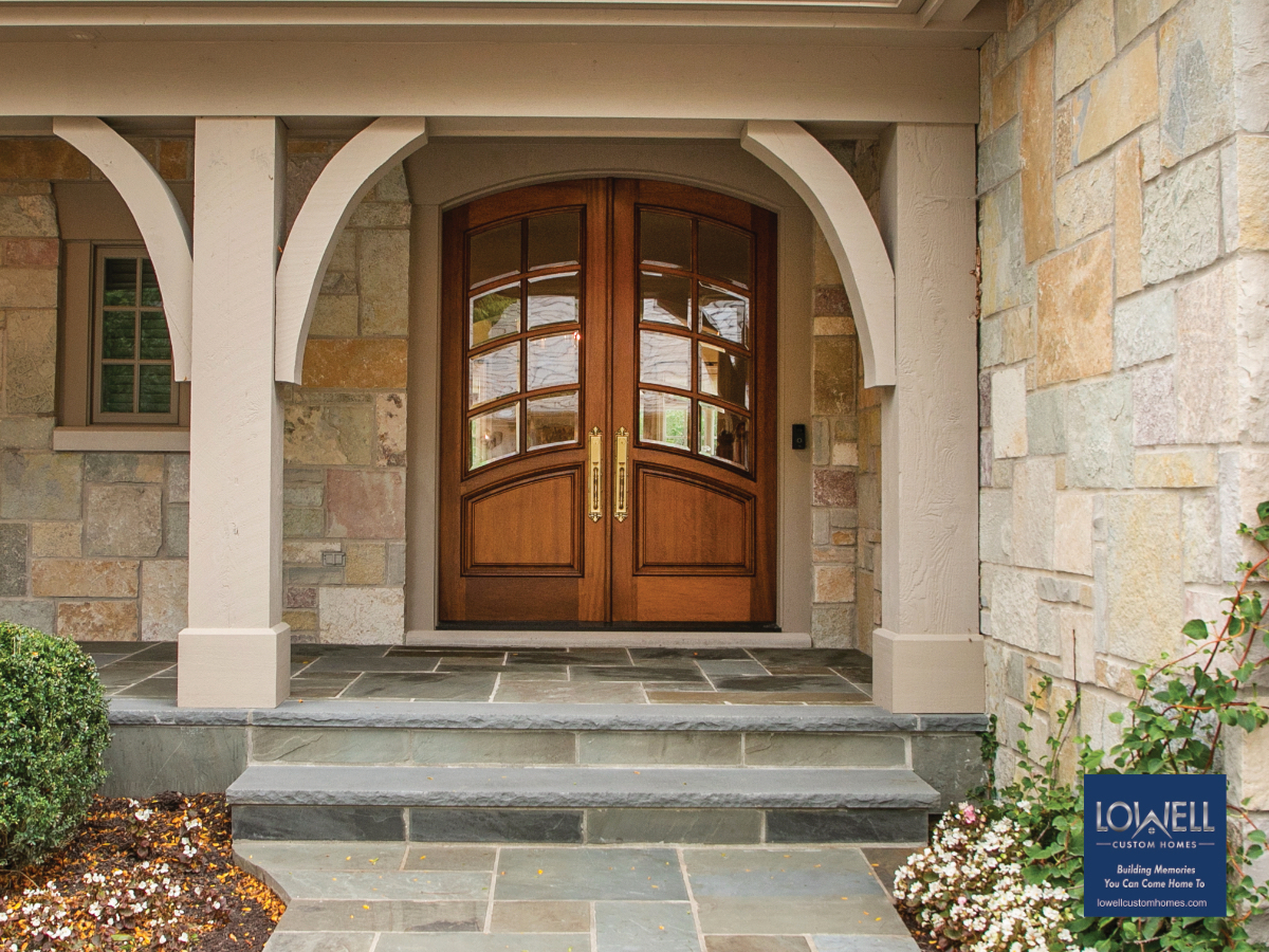 Lowell Custom Homes entry door
