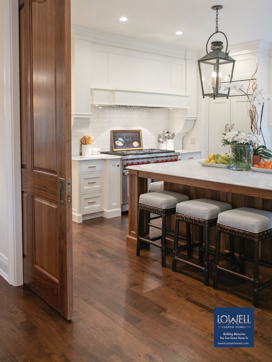 Lowell Custom Homes versitility open or close spaces versitility