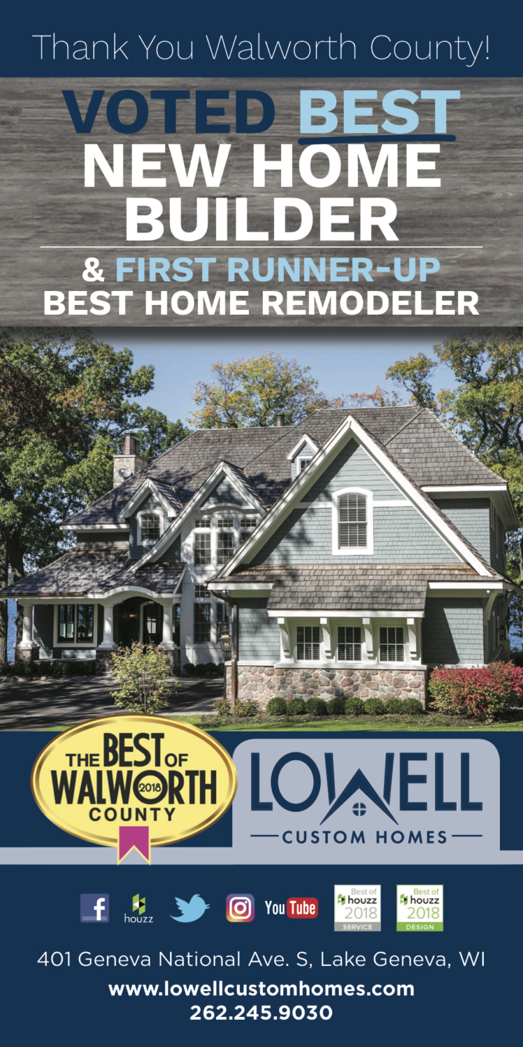 Best of Walworth County New Home Builder 2018