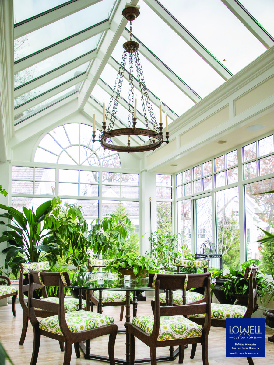 Conservatory Craftsmen Lowell Custom Homes