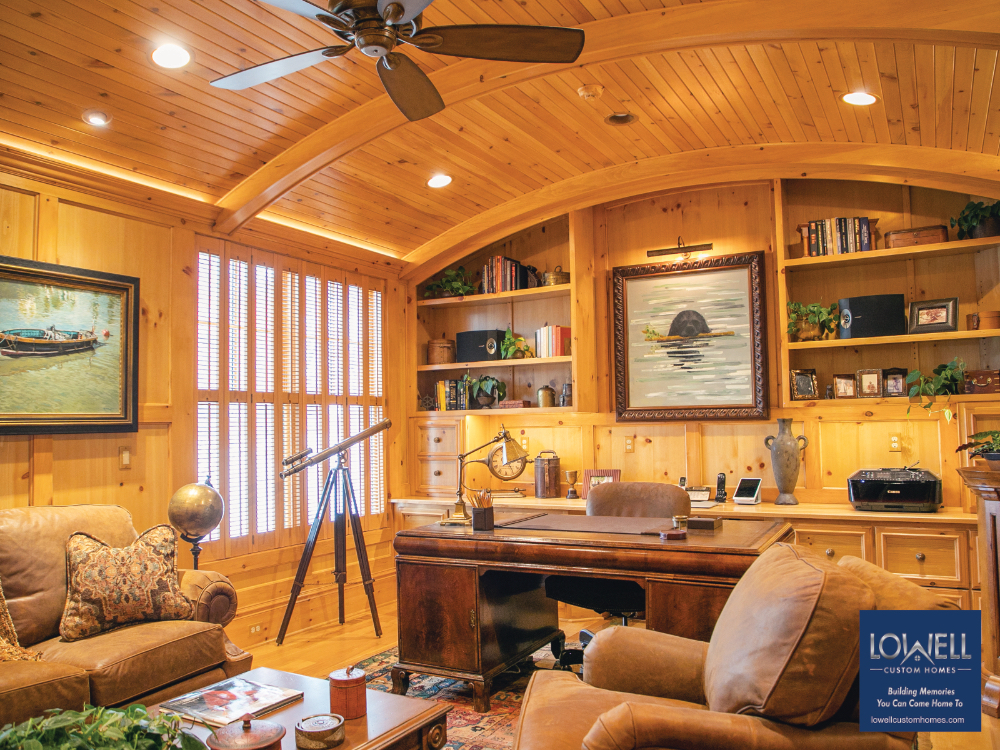 Den Lowell Custom Homes Happiness at home