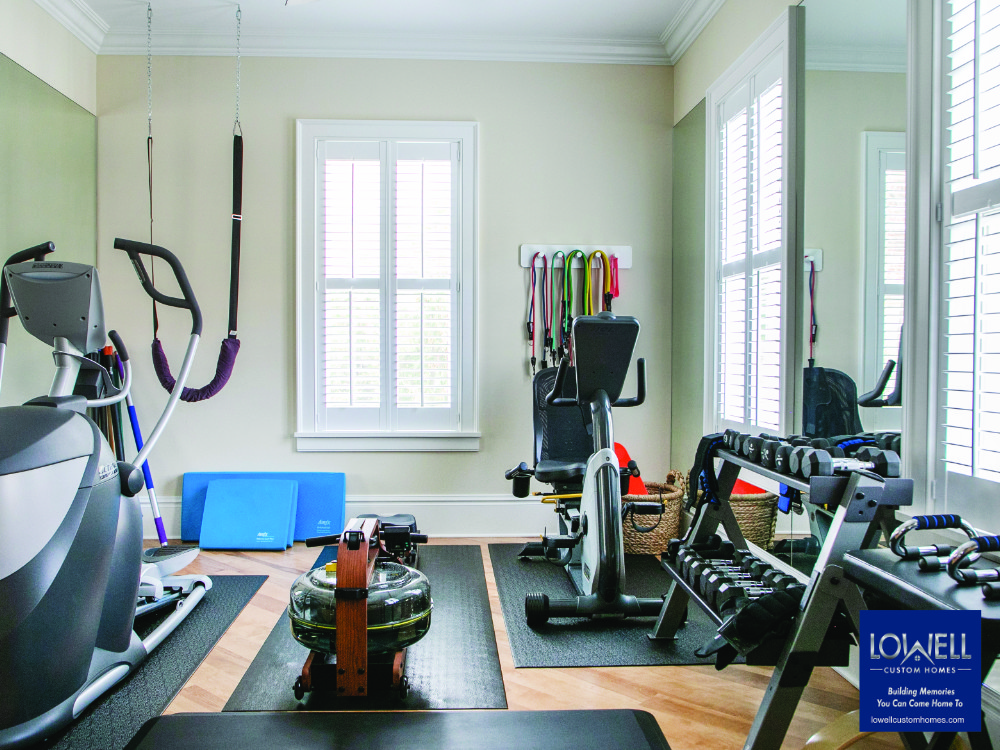 First floor workout room