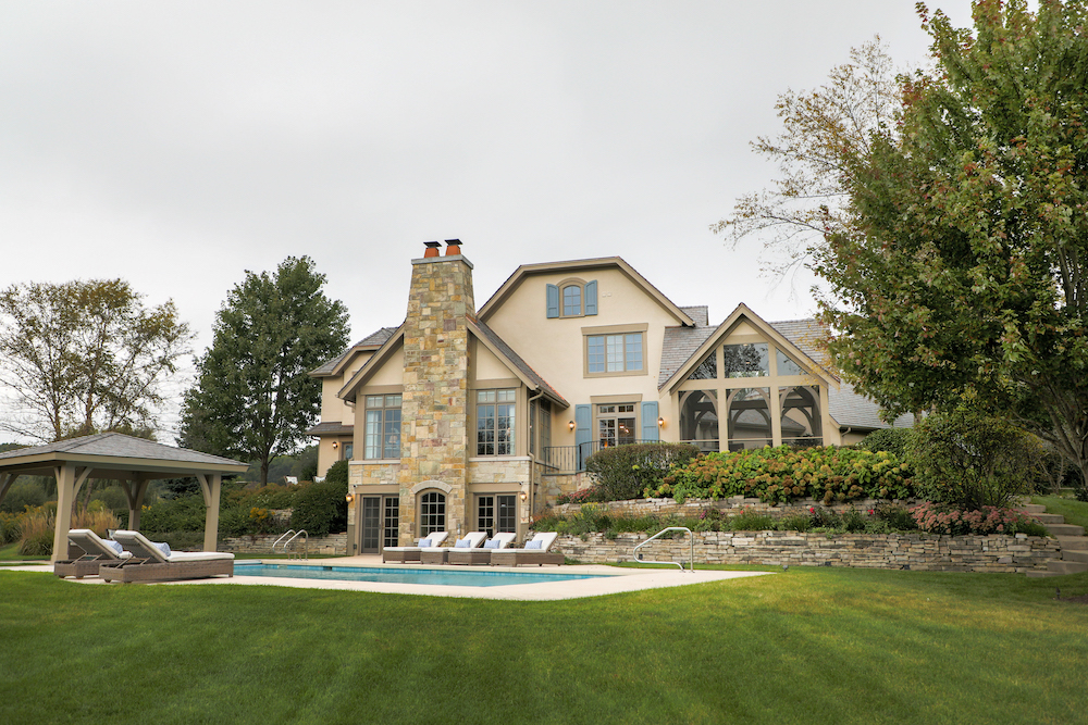 most appealing roofline by Lowell Custom Homes Lake Geneva WI