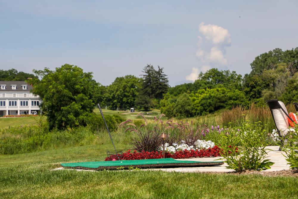 Backyard Resort Golf Tee