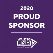 Proud Sponsor - Walk to End Alzheimers's