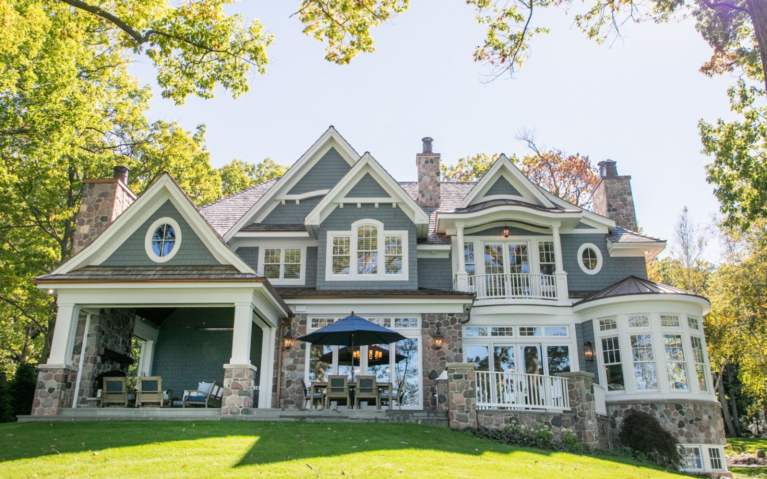 custom homes Lake Geneva Wi